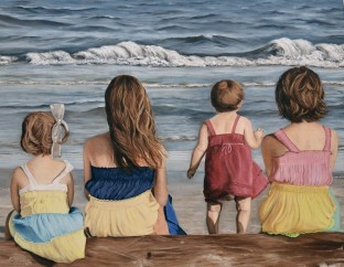 2015 Second Place Open Oils & Acrylics - Artist: Linda D'Ascenzo
